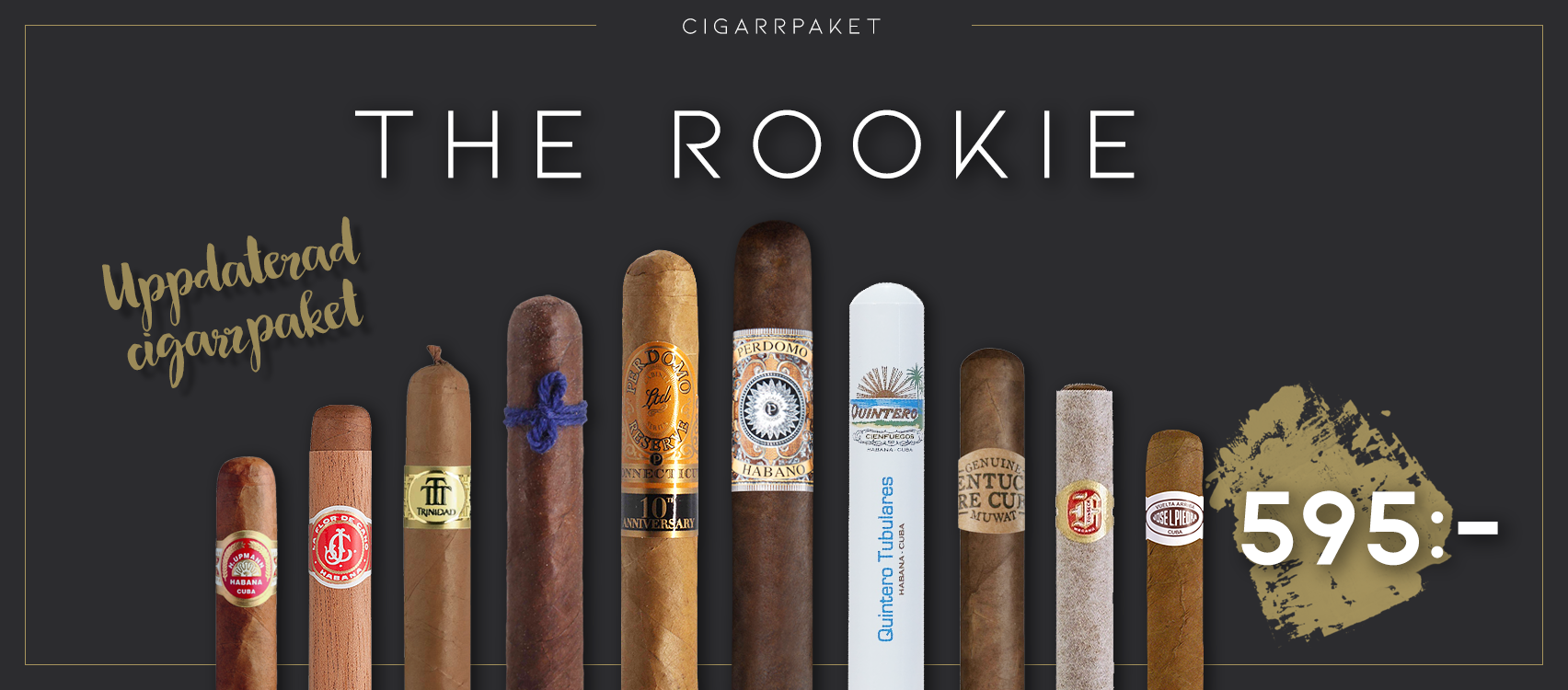The Rookie Cigarrpaket