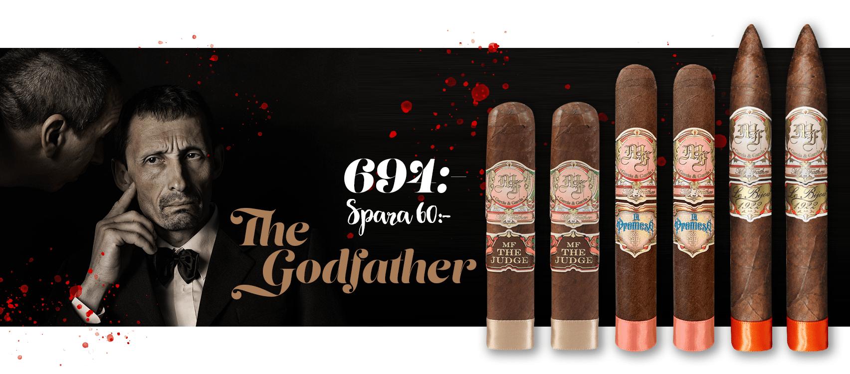 The Godfather Cigarrpaket online
